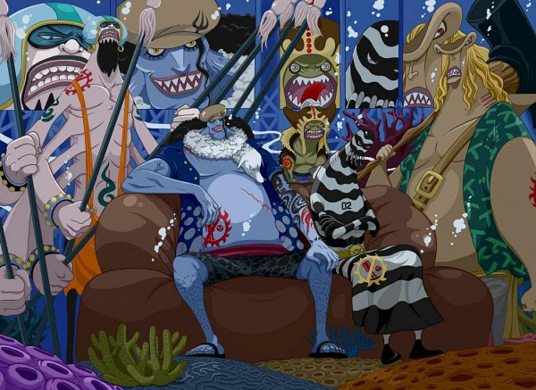 Tags: Anime, ONE PIECE, Homme Poisson, One Piece: Two Years Later, Colorization