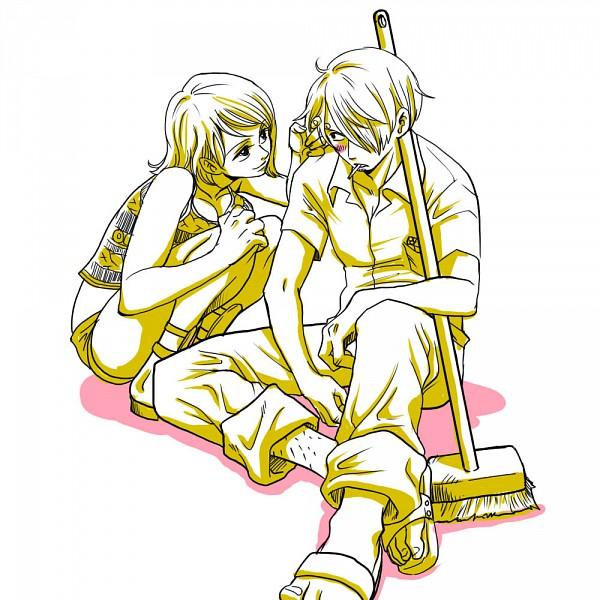 Tags: Anime, ONE PIECE, Sanji, Nami (ONE PIECE), Ballet, Straw Hat Pirates, SaNa (Pairing)