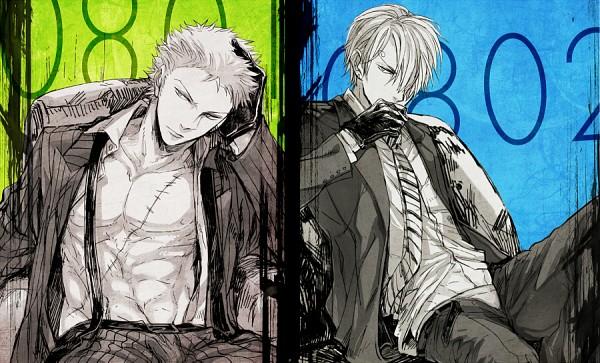 Tags: Anime, Pixiv Id 2558319, ONE PIECE, Roronoa Zoro, Sanji