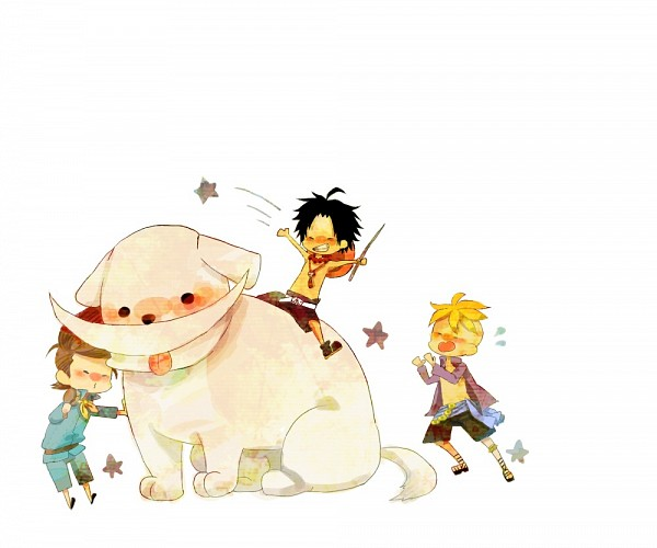 Tags: Anime, Pixiv Id 1118553, ONE PIECE, Thatch, Marco (ONE PIECE), Portgas D. Ace, Fanart, Pixiv, Fanart From Pixiv