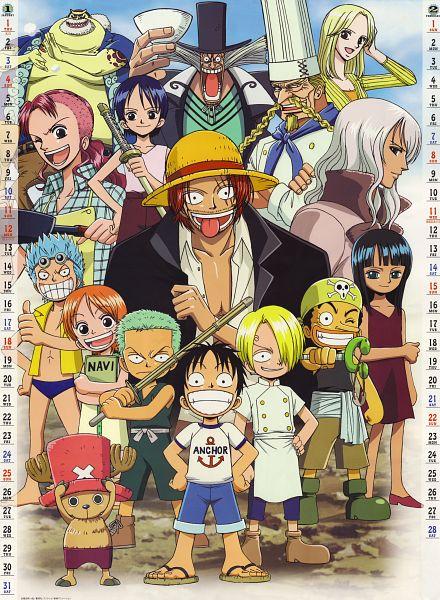 Tags: Anime, ONE PIECE, Roronoa Zoro, Nami (ONE PIECE), Nico Robin, Zeff, Tony Tony Chopper, Dr. Hiluluk (ONE PIECE), Franky, Monkey D. Luffy, Kuina, Sanji, Usopp
