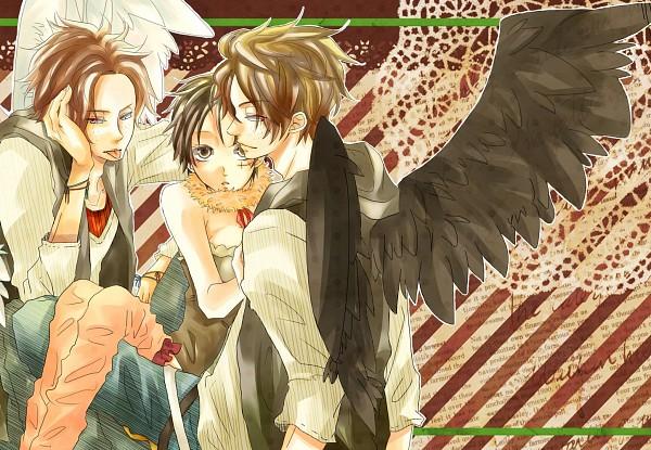Tags: Anime, Togashi (Isagot), ONE PIECE, Luffy (Female), Portgas D. Ace, Monkey D. Luffy, Fanart, Pixiv