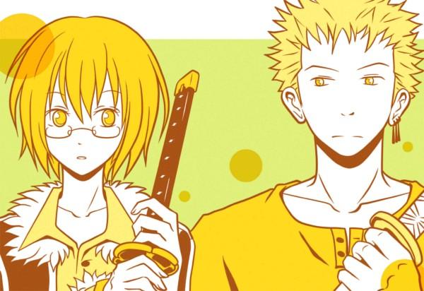 Tags: Anime, Kigisu, ONE PIECE, Roronoa Zoro, Tashigi, Pixiv, Fanart