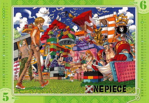 Tags: Anime, Oda Eiichirou, ONE PIECE, Monkey D. Luffy, Sanji, Usopp, Nami (ONE PIECE), Brook, Roronoa Zoro, Nico Robin, Tony Tony Chopper, Franky, Lego