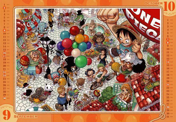 Tags: Anime, Oda Eiichirou, ONE PIECE, Sanji, Usopp, Nami (ONE PIECE), Roronoa Zoro, Brook, Nico Robin, Tony Tony Chopper, Franky, Monkey D. Luffy, Crocodile (Animal)