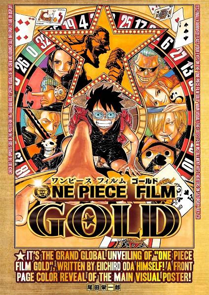 Tags: Anime, Oda Eiichirou, ONE PIECE, ONE PIECE FILM GOLD, Usopp, Nami (ONE PIECE), Brook, Roronoa Zoro, Nico Robin, Tony Tony Chopper, Franky, Monkey D. Luffy, Sanji