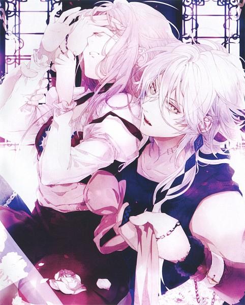 Tags: Anime, Satoi, OZMAFIA!!, Caesar (Ozmafia!!), Fuka (Ozmafia!!), Official Art, Scan