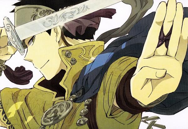 Tags: Anime, Akizuki Sorata, Akagami no Shirayukihime, Obi (Akagami no Shirayukihime), Official Art, Scan