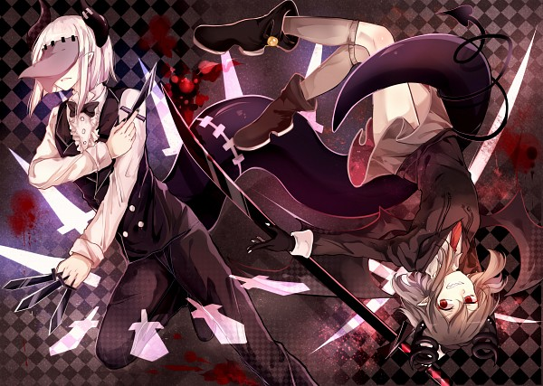 Tags: Anime, Pixiv Id 4588584, Obsolete Dream, Hanten (Obsolete Dream), Maekami, Pixiv
