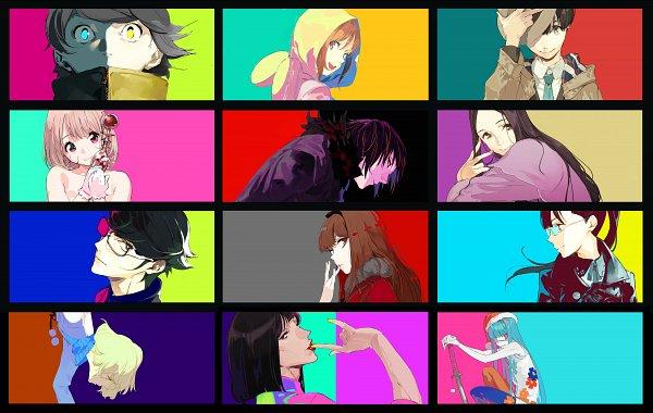 Tags: Anime, Pixiv Id 19992755, Occultic;Nine, Sumikaze Touko, Moritsuka Shun, Aikawa Miyuu, Nishizono Ririka, Hashigami Sarai, Kusakabe Kiryuu, Narusawa Ryouka, Kisaki Asuna, Kurenaino Aria, Gamon Yuuta