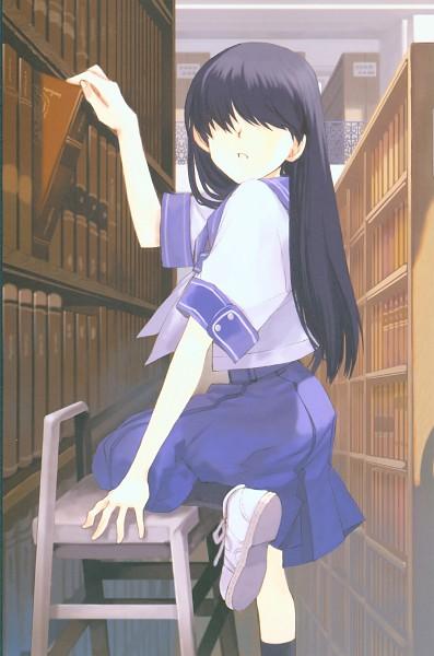 Tags: Anime, Yamamoto Yamato, Denpa teki na Kanojo, Aurora Gem, Ochibana Ame, Official Art