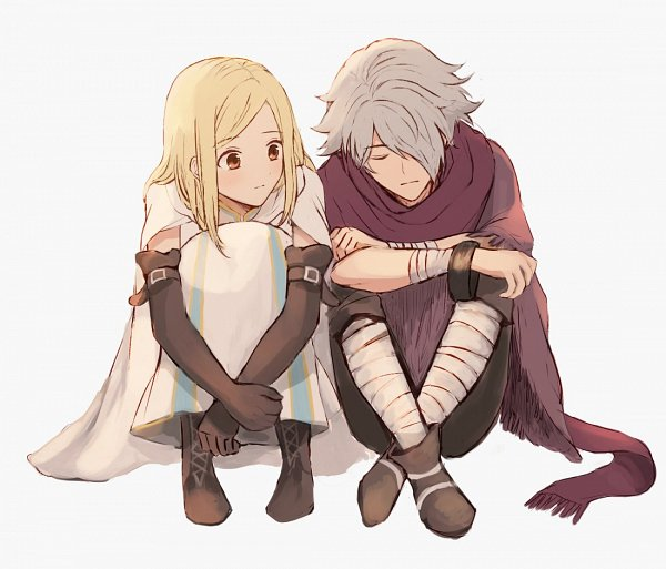 Tags: Anime, Wspread, Octopath Traveler, Ophilia Clement, Therion (Octopath Traveler), Poncho, Fanart, Twitter