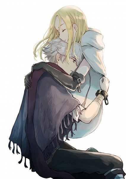 Tags: Anime, Wspread, Octopath Traveler, Ophilia Clement, Therion (Octopath Traveler), Twitter, Fanart