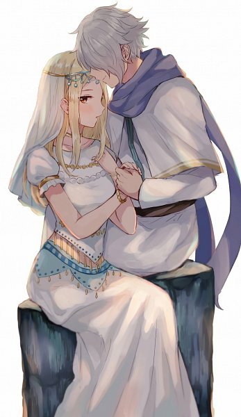 Tags: Anime, Wspread, Octopath Traveler, Ophilia Clement, Therion (Octopath Traveler), Twitter