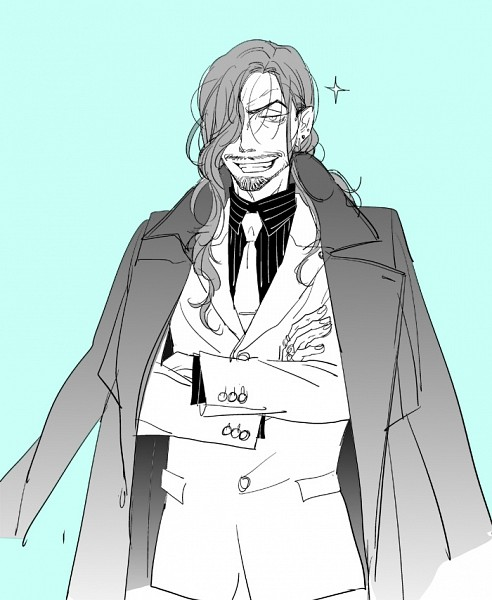 Tags: Anime, Pixiv Id 340743, Drifters (Manga), Oda Nobunaga (Drifters), Stubble, Fanart, Fanart From Pixiv, Pixiv, Sketch