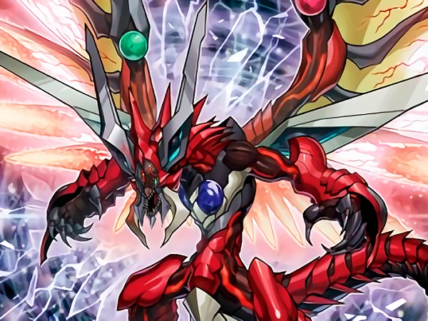 Odd-Eyes Raging Dragon - Yu-Gi-Oh! ARC-V