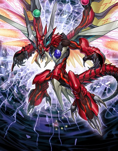 Tags: Anime, Yu-Gi-Oh!, Yu-Gi-Oh! ARC-V, Odd-Eyes Raging Dragon, Card (Source), Official Art, Official Card Illustration