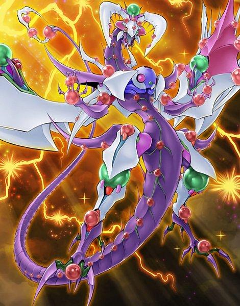 Tags: Anime, Yu-Gi-Oh! ARC-V, Yu-Gi-Oh!, Odd-Eyes Venom Dragon, Official Card Illustration, Card (Source), Official Art