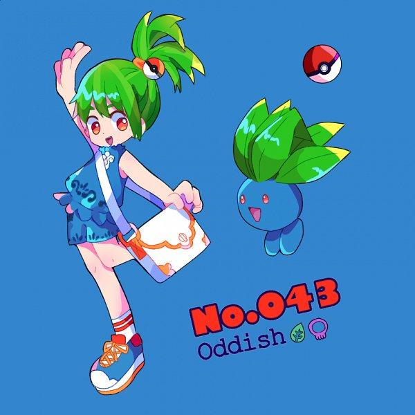 Tags: Anime, Pixiv Id 24424167, Pokémon, Oddish, Pixiv, Fanart, Fanart From Pixiv
