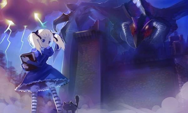Tags: Anime, Odin Sphere, Socrates (Odin Sphere), Alice (Odin Sphere), Wagner, Drawers (Victorian), 1600x900 Wallpaper, Fanart, Artist Request, Wallpaper