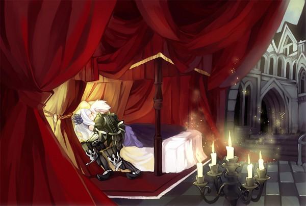 Tags: Anime, Oboro Keisuke, Odin Sphere, Oswald (Odin Sphere), Gwendolyn (Odin Sphere), Fanart From Pixiv, Fanart, Pixiv