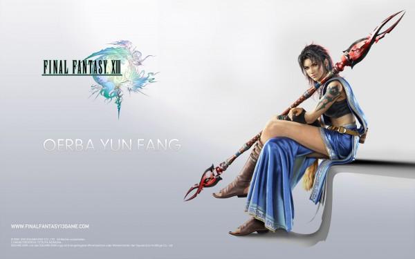 Tags: Anime, Final Fantasy XIII, Oerba Yun Fang, Wallpaper