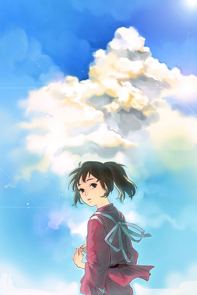 Tags: Anime, Tyuh, Studio Ghibli, Sen to Chihiro no Kamikakushi, Ogino Chihiro, Mobile Wallpaper
