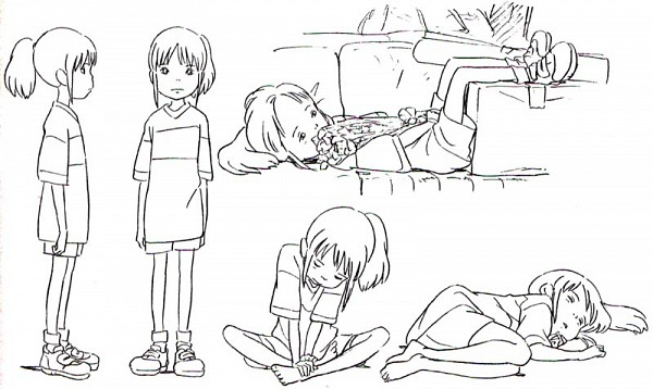 Tags: Anime, Studio Ghibli, Sen to Chihiro no Kamikakushi, Ogino Chihiro