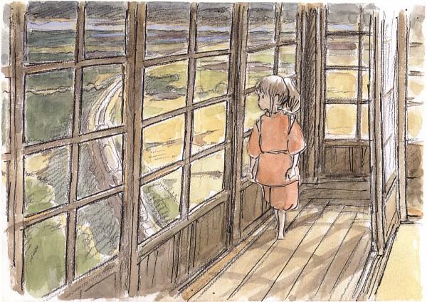 Tags: Anime, Studio Ghibli, Sen to Chihiro no Kamikakushi, Ogino Chihiro, Artist Request