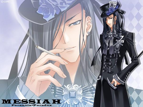 Tags: Anime, CARNELIAN, Messiah - Paranoia Paradox, Messiah, Ogiwara Shusei, Alice in Wonderland (Parody), Wallpaper
