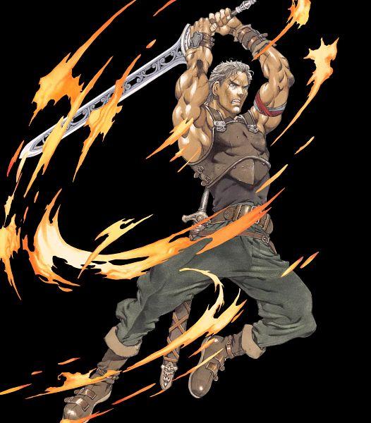 Tags: Anime, Yamada Akihiro, Intelligent Systems, Fire Emblem Heroes, Oguma (Fire Emblem), Official Art, Ogma (fire Emblem)