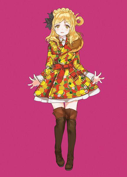 Tags: Anime, Kissai, Love Live! Sunshine!!, Ohara Mari, Lemon, Fanart, Revision, Mobile Wallpaper, Fanart From Pixiv, Pixiv