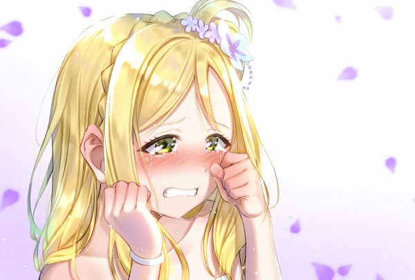 Tags: Anime, Pixiv Id 28019868, Love Live! Sunshine!!, Ohara Mari, Fanart From Pixiv, Thank you FRIENDS!!, Pixiv, Fanart