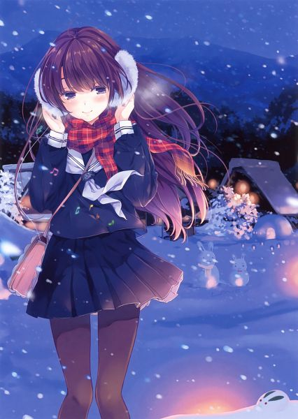 Tags: Anime, Ohara Tometa, QP:flapper, Eshi 100-Nin Ten 02, Scan, Mobile Wallpaper