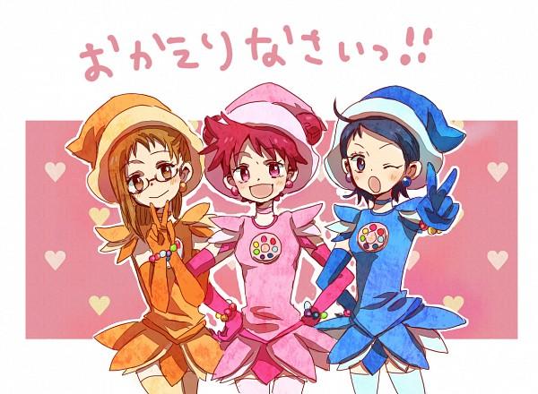 Tags: Anime, Pixiv Id 30731, Ojamajo DoReMi, Ojamajo DoReMi 16, Fujiwara Hazuki, Senoo Aiko, Harukaze Doremi, Dream Spinner