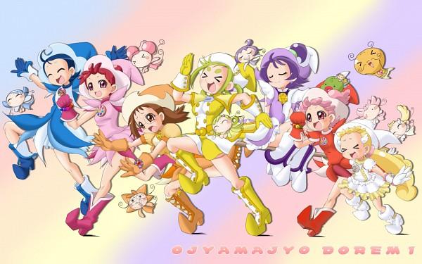 Tags: Anime, Masakichi (Heppouku), Ojamajo DoReMi 16, Ojamajo DoReMi, RoRo (Ojamajo DoReMi), Segawa Onpu, MiMi (Ojamajo DoReMi), Alexander Tagosaku Oyajide, Makihatayama Hana, FaFa (Ojamajo DoReMi), Fujiwara Hazuki, LaLa (Ojamajo DoReMi), Harukaze Pop
