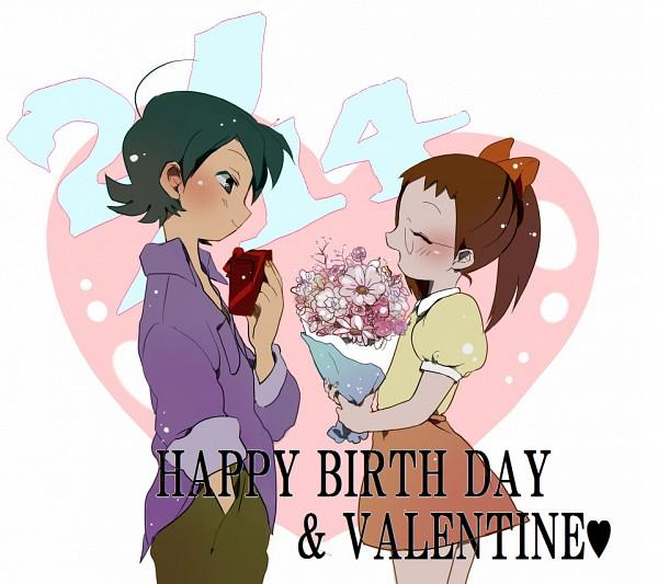 Tags: Anime, Motamota, Ojamajo DoReMi, Yada Masaru, Fujiwara Hazuki, Fanart, Magical Doremi