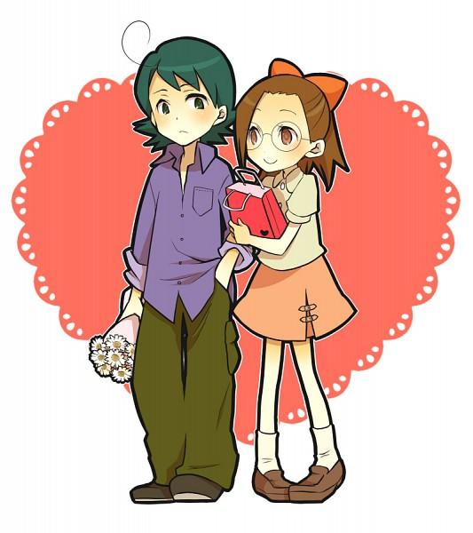 Tags: Anime, Pixiv Id 2299039, Ojamajo DoReMi, Yada Masaru, Fujiwara Hazuki, Fanart, Magical Doremi