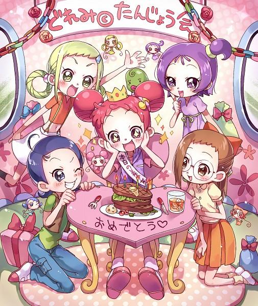 Tags: Anime, Rojiko, Ojamajo DoReMi, Asuka Momoko, RoRo (Ojamajo DoReMi), Segawa Onpu, DoDo (Ojamajo DoReMi), Fujiwara Hazuki, ReRe (Ojamajo DoReMi), Majo Rika, Senoo Aiko, NiNi (Ojamajo DoReMi), Harukaze Doremi, Magical Doremi