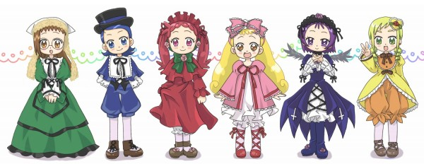 Tags: Anime, Ojamajo DoReMi, Senoo Aiko, Makihatayama Hana, Harukaze Doremi, Asuka Momoko, Segawa Onpu, Fujiwara Hazuki, Suigintou (Cosplay), Kanaria (Cosplay), Hinaichigo (Cosplay), Suiseiseki (Cosplay), Shinku (Cosplay), Magical Doremi