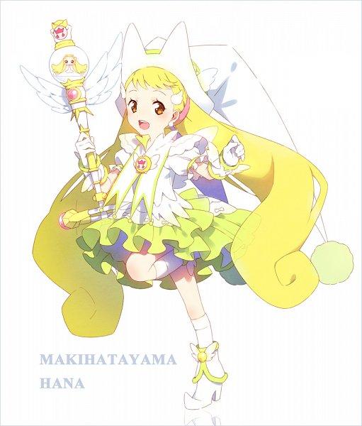 Tags: Anime, hakusai, Ojamajo DoReMi, Makihatayama Hana, ToTo (Ojamajo DoReMi), Fanart From Pixiv, Pixiv, Fanart, Magical Doremi