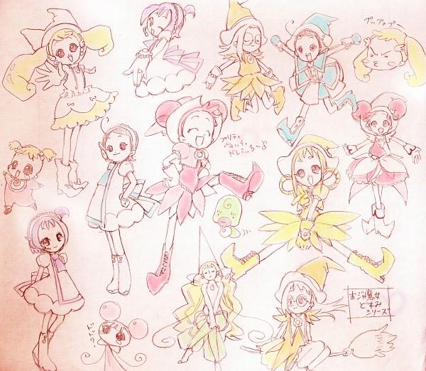 Tags: Anime, Pixiv Id 59442, Ojamajo DoReMi, Majo Rika, Fujiwara Hazuki, Senoo Aiko, Makihatayama Hana, Harukaze Doremi, DoDo (Ojamajo DoReMi), Asuka Momoko, LaLa (Ojamajo DoReMi), Segawa Onpu, Pâtissier Intercom, Magical Doremi