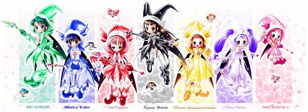 Tags: Anime, Yajin (Artist), Ojamajo DoReMi, Hidaka Kazumi, TaTa/YaYa (Ojamajo DoReMi), Wakabayashi Yoko, Miko/YaYa (Ojamajo DoReMi), KeKe/RiRi (Ojamajo DoReMi), Yukitani Tsukasa, Komatsugawa Emiko, NaNa/ShoSho (Ojamajo DoReMi), Kugayama Takami, SaSa (Ojamajo DoReMi), Magical Doremi