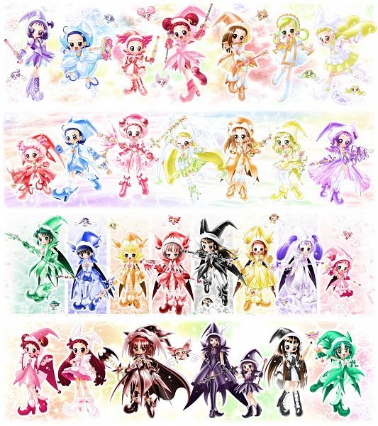 Tags: Anime, Yajin (Artist), Ojamajo DoReMi, MiMi (Ojamajo DoReMi), Hidaka Kazumi, Segawa Onpu, FaFa (Ojamajo DoReMi), Wakabayashi Yoko, Seki-sensei, Komatsugawa Emiko, Senoo Aiko, DoDo (Ojamajo DoReMi), Yukitani Tsukasa, Magical Doremi