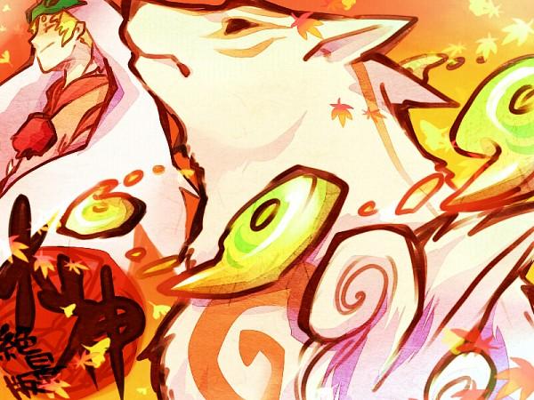 Tags: Anime, Gline, Okami, Ushiwakamaru, Amaterasu