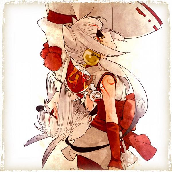 Tags: Anime, Pixiv Id 166834, Okami, Yumigami, Kabegami, God, Fanart, Pixiv, Fanart From Pixiv, Brush Gods