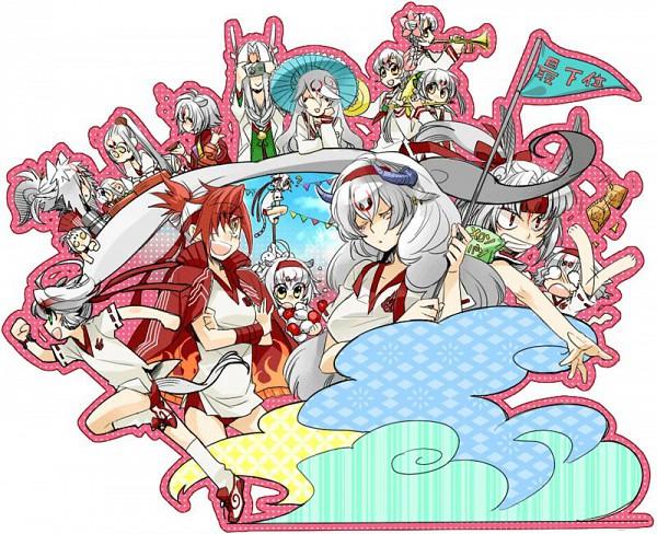 Tags: Anime, Pixiv Id 166834, Capcom, Okami, Tachigami, Kazegami, Hasugami, Itegami, Kasugami, Gekigami, Sakigami, Bakugami, Kabegami