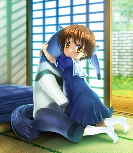 Tags: Anime, Moonknives, Clannad: After Story, CLANNAD, Okazaki Ushio, Pixiv