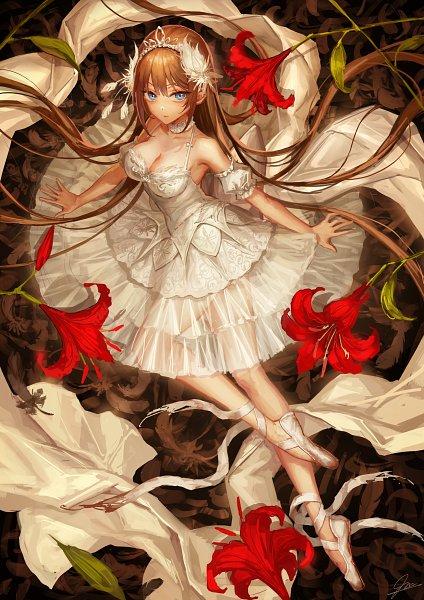 Tags: Anime, Okuma Mai, Ballet, Ballet Shoes, Pixiv, Original, Mobile Wallpaper