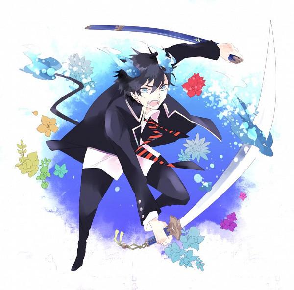 Tags: Anime, Pixiv Id 2332620, Ao no Exorcist, Okumura Rin, Pixiv
